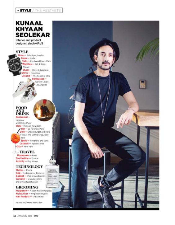 Man's World India -Kunaal Kyhaan Seolekar