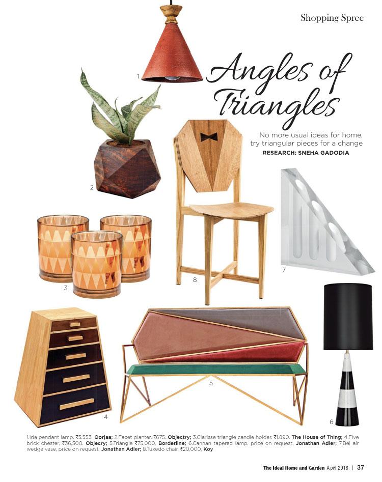 Ideal Home & Garden |  KOY  |  Tuxedo Chair