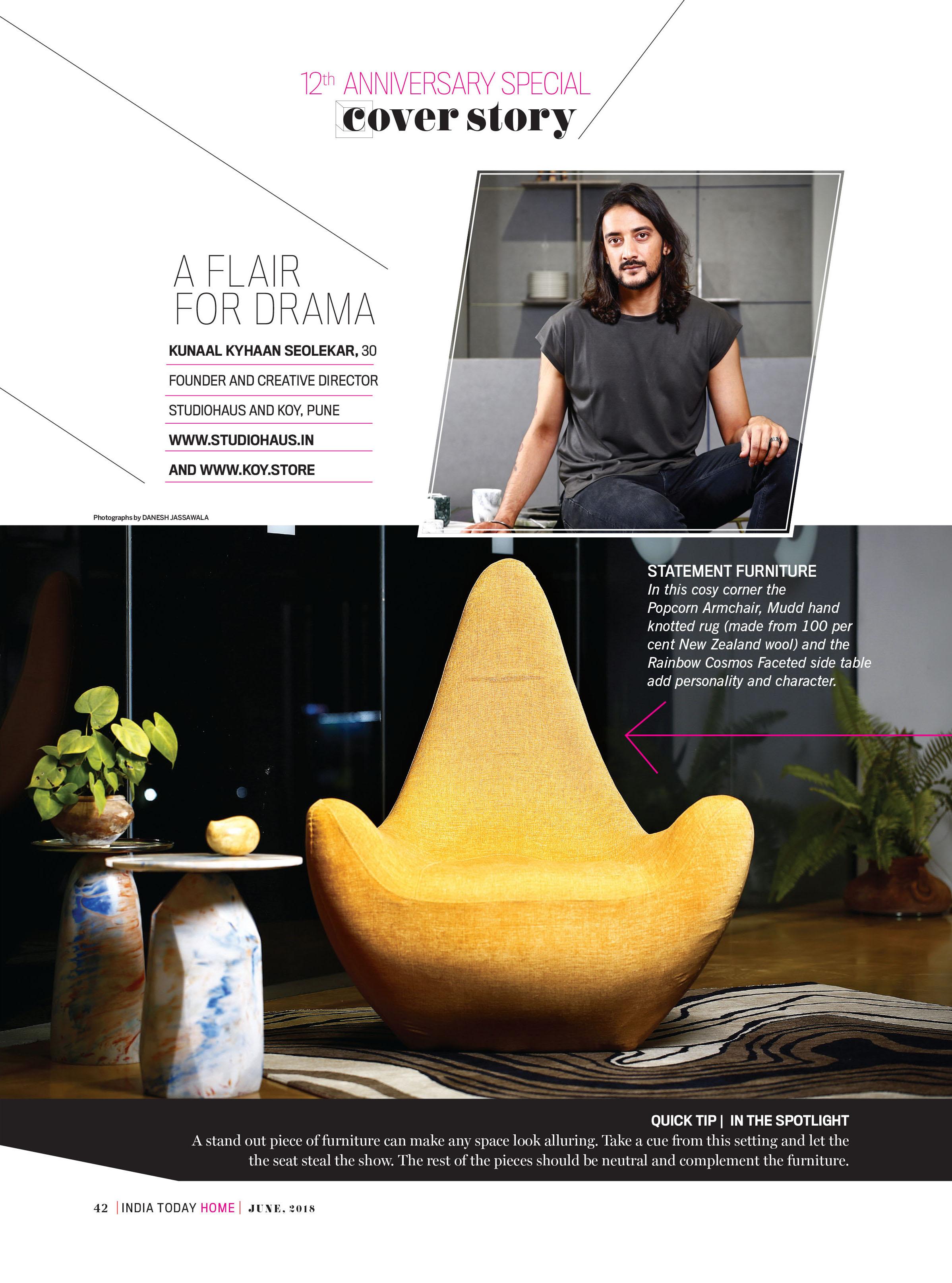 India Today | Cover Story |  Kunaal Kyhaan Seolekar  |  KOY