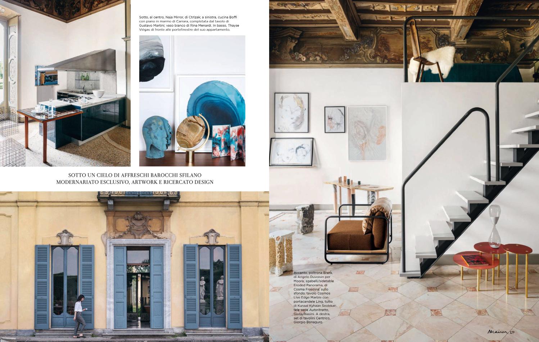 Marie Claire Italia | Casa Canvas | Cosmos Console