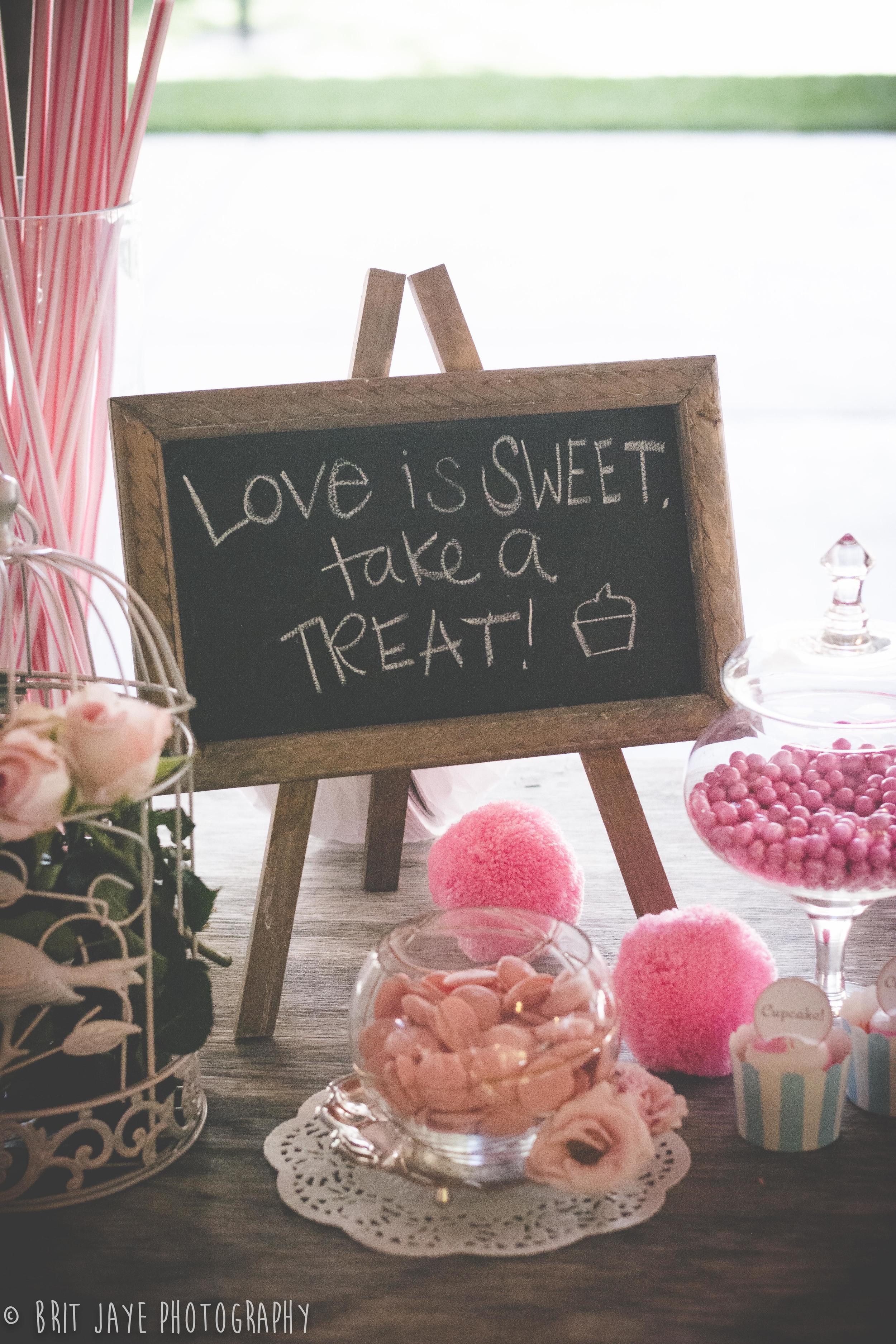 Rustic Wedding Candy Bar