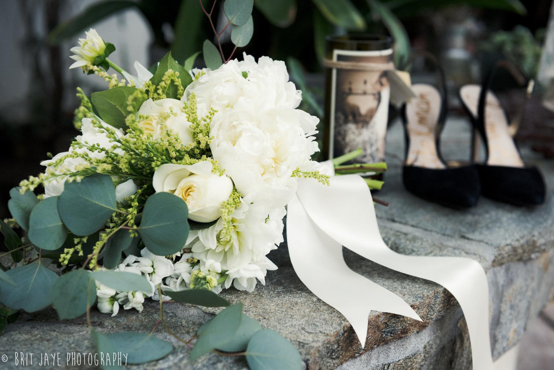 Romantic All White Bouquet