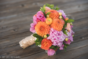 Bright and Fun Bridal Bouquet