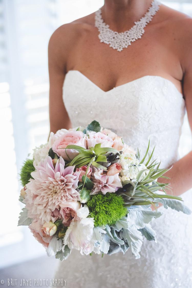 Whimsical Pastel Bridal Bouquet