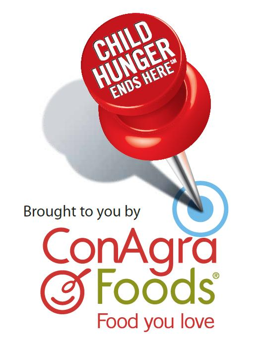 ConAgra Foods / Child Hunger Ends Here