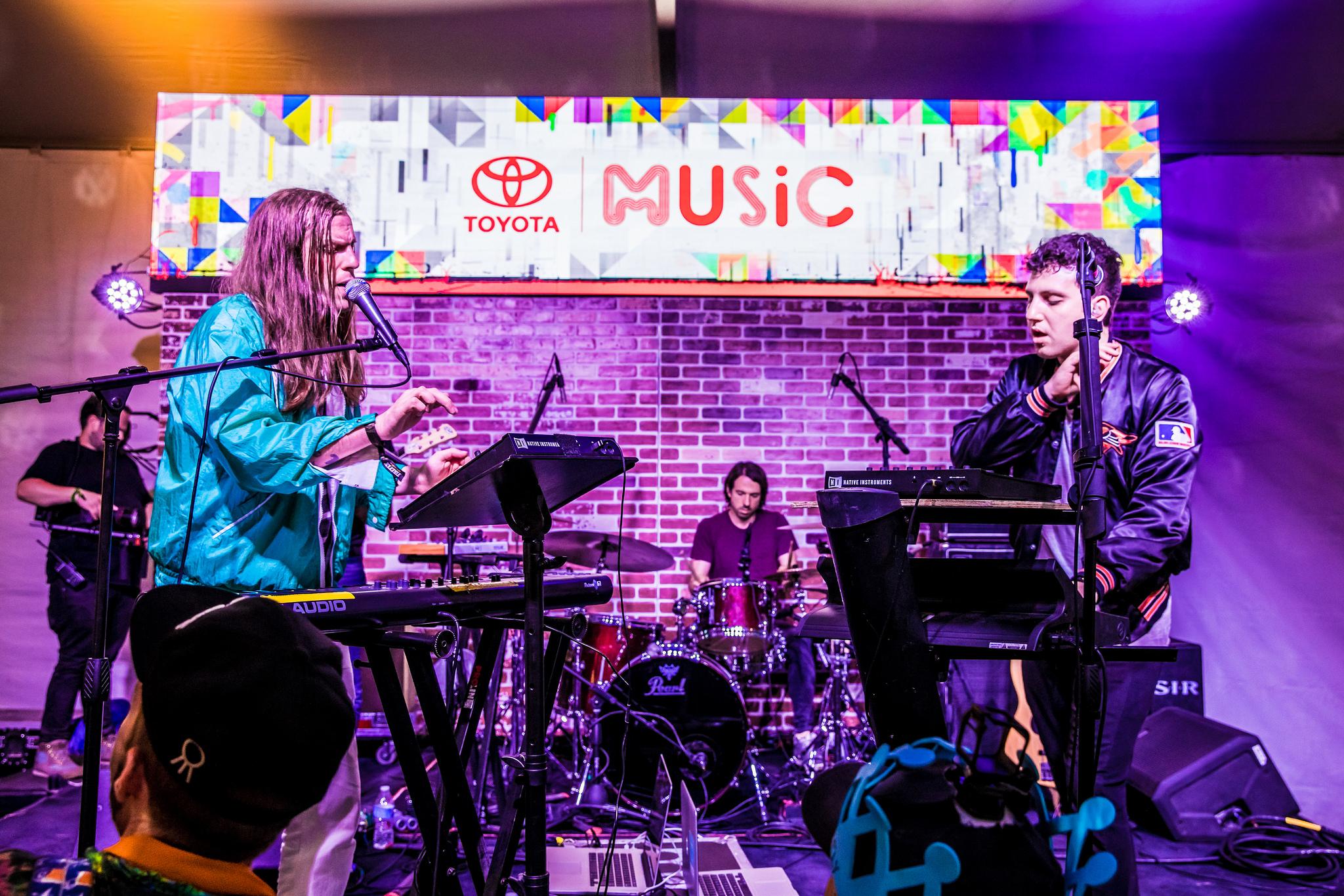 Toyota Music Festivals -