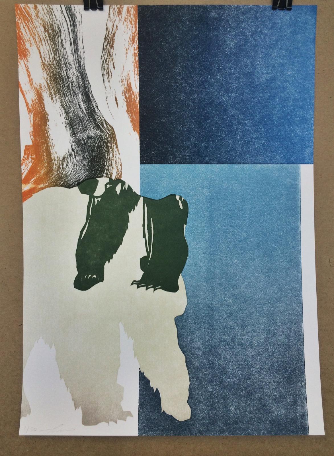 "Letterpress Print  11 x 17""  edition of 50  2016"