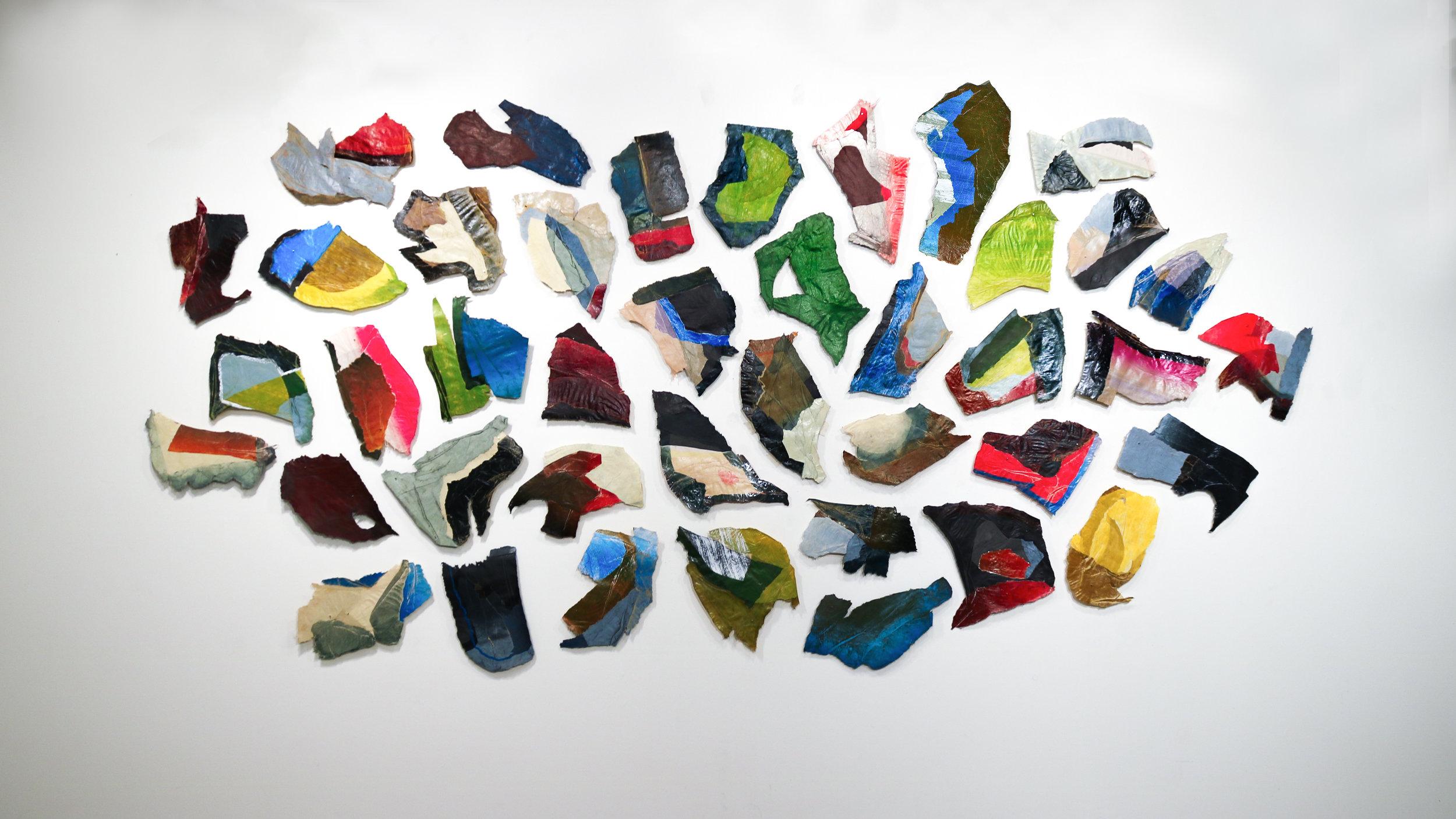 Mica Swarm,  Installed in Colorado College's Coburn Gallery, June 2018