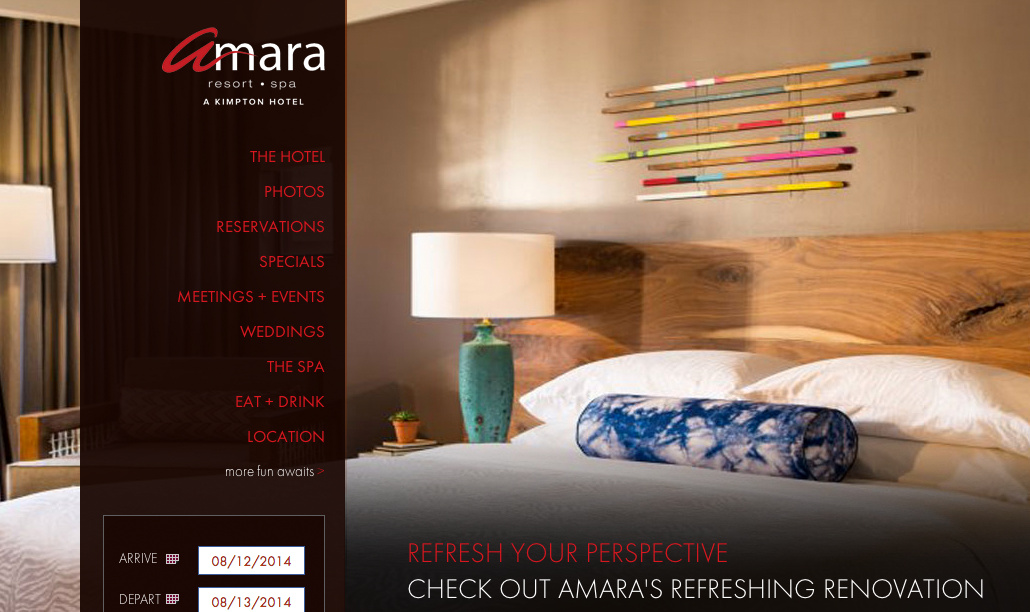 Edition of 101 wooden wall hanging sculptures (1.5 x 4 ft each), Kimpton Amara Resort and Spa, Sedona, AZ