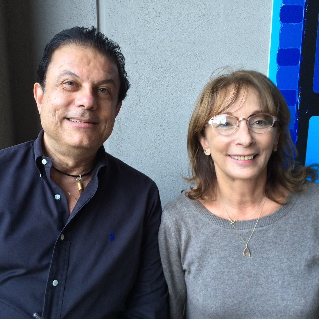 Joe Ippolito and friend Lynda Obst  (producer Sleepless in Seattle, Hope Floats, Fisher King, How to Lose a Man in 10 Days)