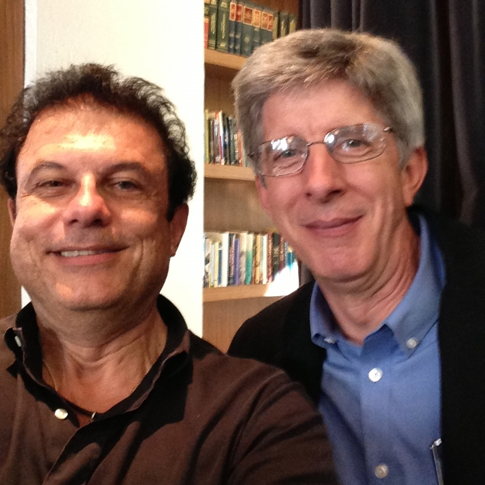 Joe Ippolito after speaking that Salesforce Universitywith Peter Coffee (VP at  Salesforce.com )