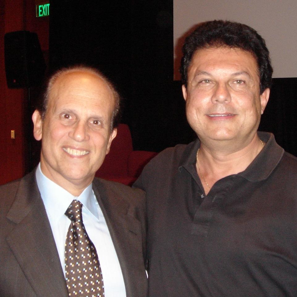 Joe Ippolito withMichael Milken  (philanthropist, chairman Miken Institute)