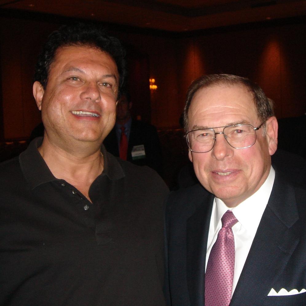 Joe Ippolito withGeorge Argyros  (US Ambassador Spain, chairman Cal Tech, venture capitalist)