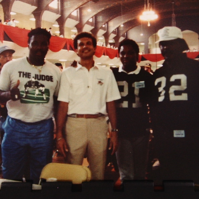 Joe's clients:  Raiders football hall of fame Lester Hayes, Jack Tatum, Cliff Branch