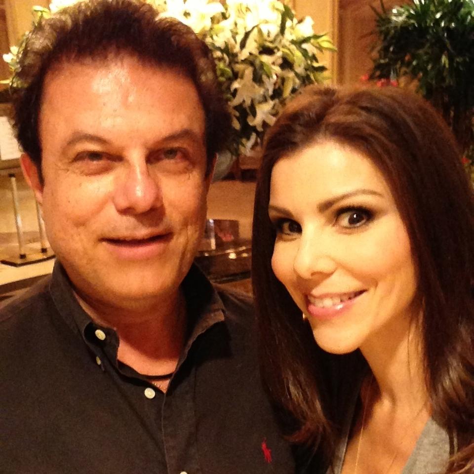 Joe ippolito with Heather Dubrow  (Housewife of Orange County)