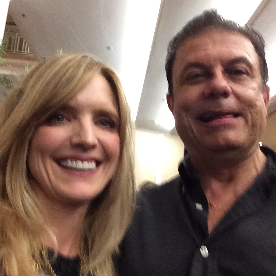 Joe Ippolito with Courtney Thorne Smith  (2 and a 1/2 men, Beverly Hills 90210. Spirit of CLARE award at Tribute Dinner)