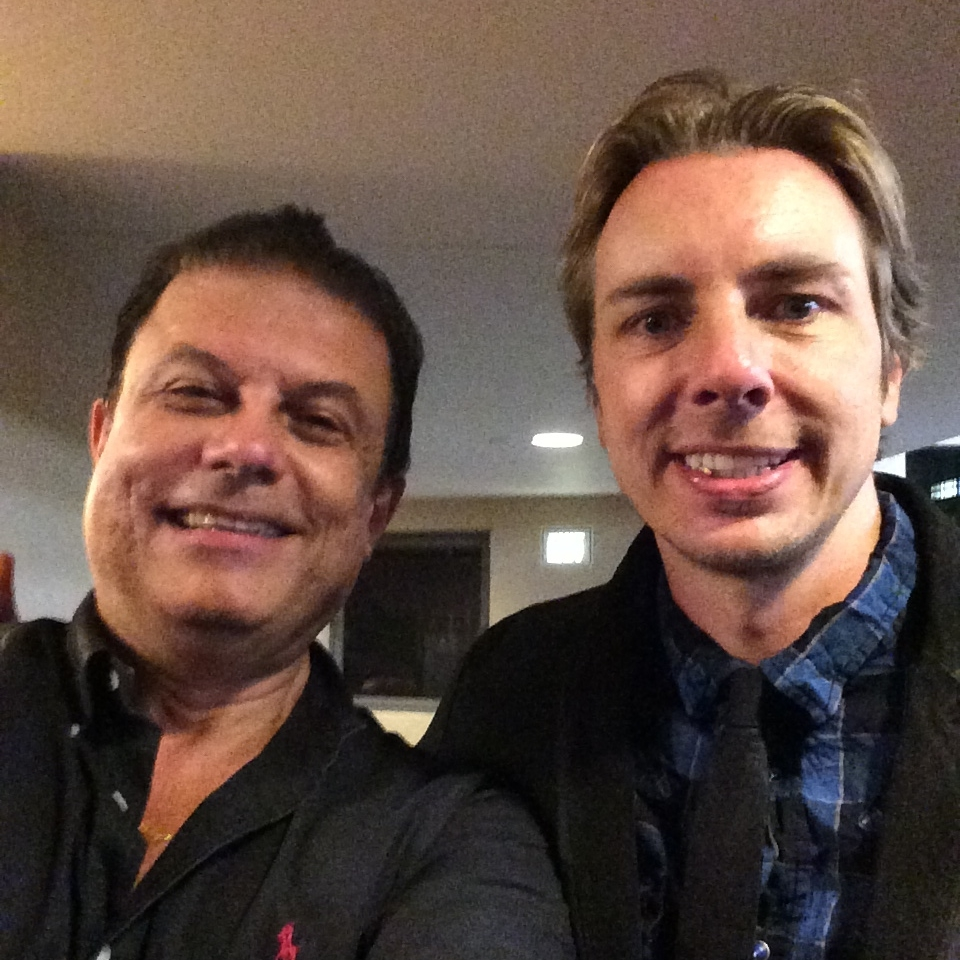 Joe ippolito with Dax Shepard  (MTV Punked. CLARE Tribute Dinner)