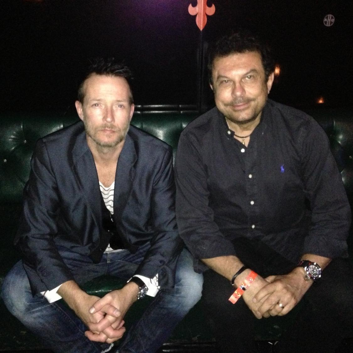 Joe Ippolito with Scott Weiland  (Stone Temple Pilots, Velvet Revolver)