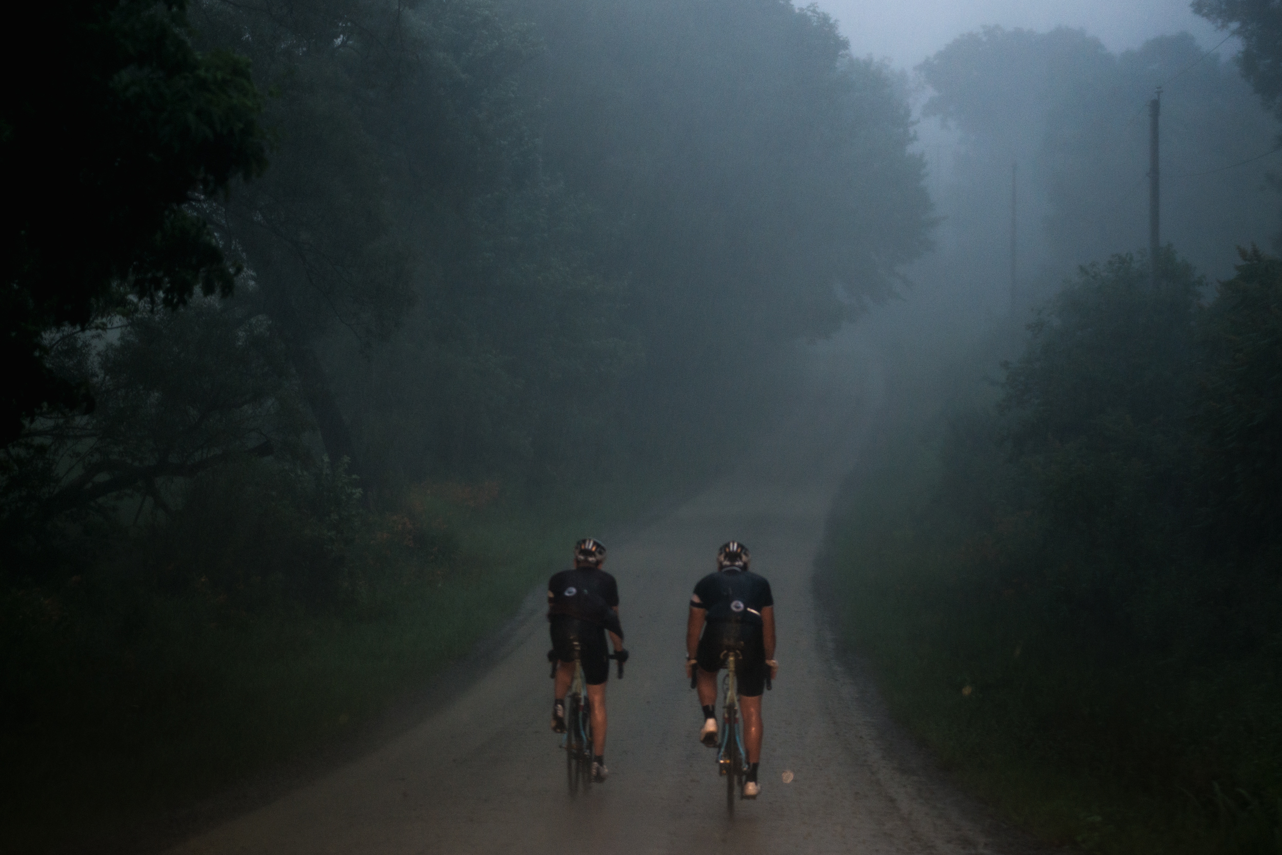 A long day that really only began with the sunset thunderstorm. We rode until 3am and it was not pretty.