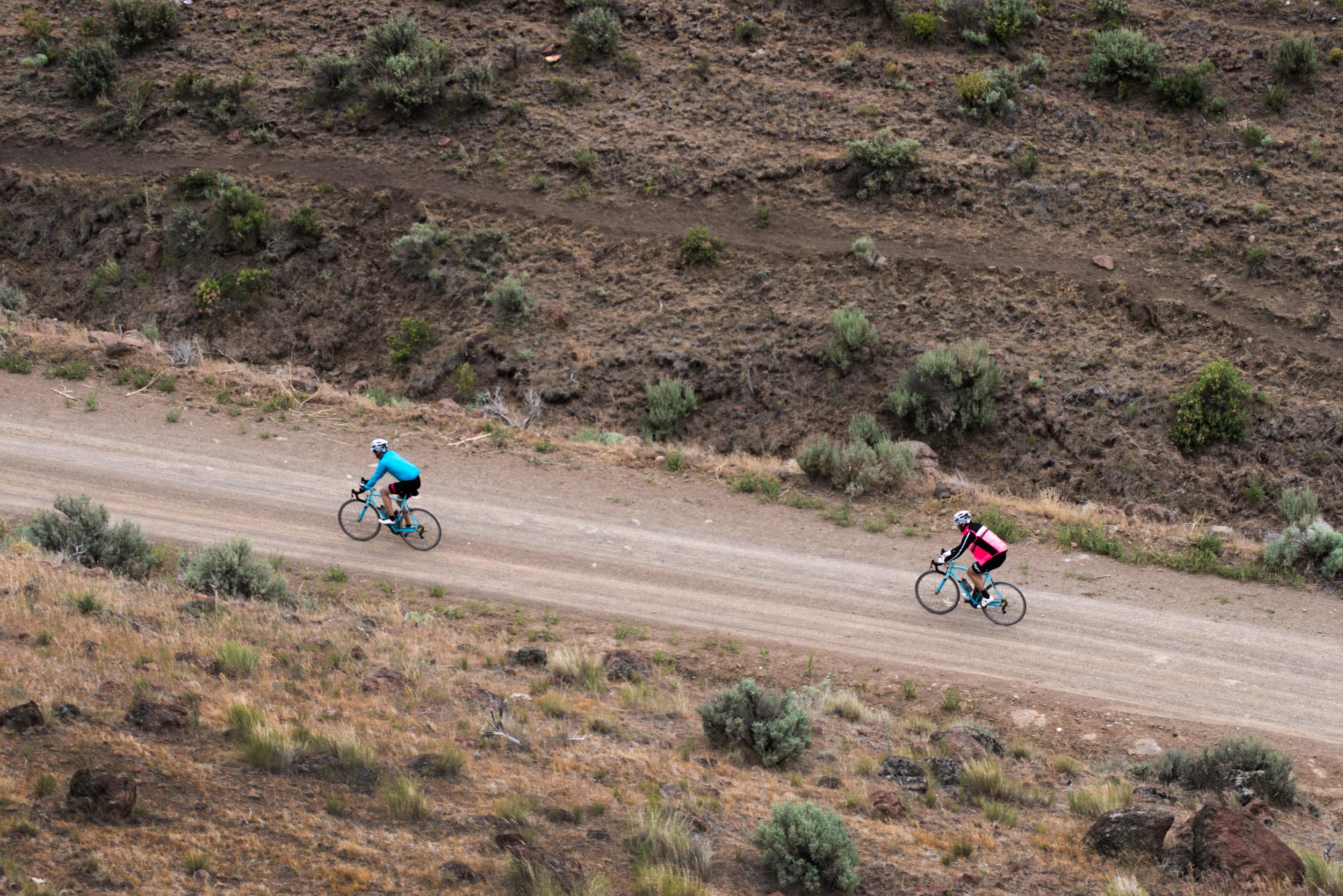 Oregon Trail riding.