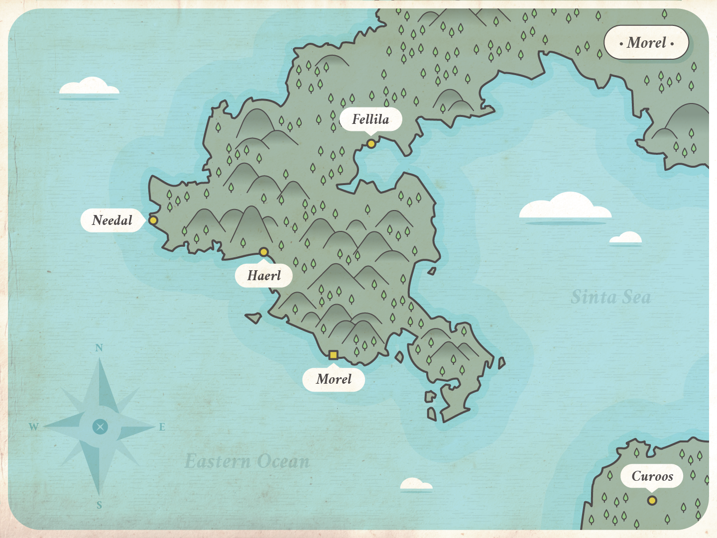 Another region (close to Poralan) where my main protagonist ventures to.