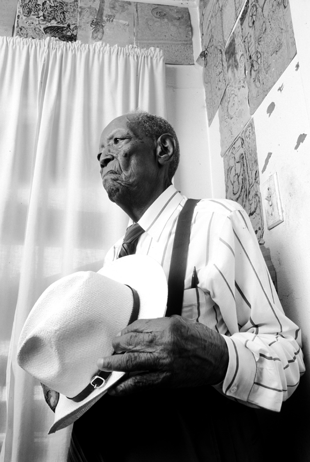 beautiful photo by Paul S. Howell, Photo taken in Ezekiel's home at age 102.