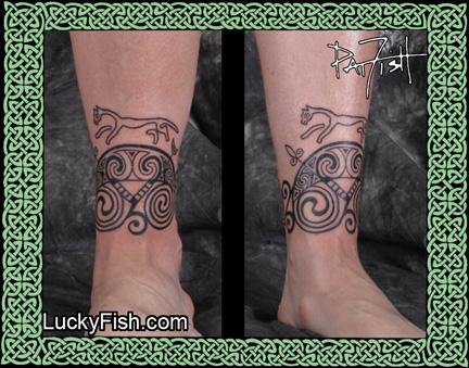 Custom Pictish Tattoo