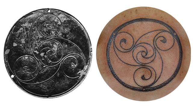 The Bann Disc and the Tattoo by Pat Fish  it Inspired