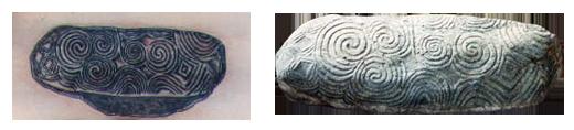 Newgrange Kerbstone and Tattoo by Pat Fish - Buy Tattoo Design
