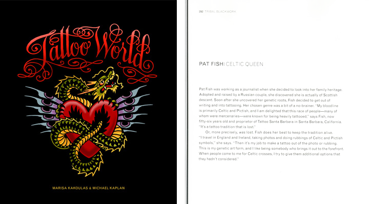 Tattoo World, Edited by Marisa Kakoulas, Text by Michael Kaplan