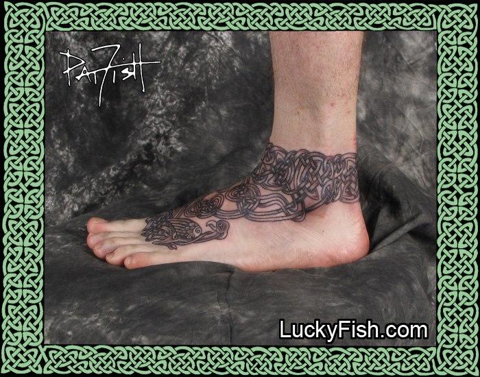 Celtic Tattoo by Pat Fish