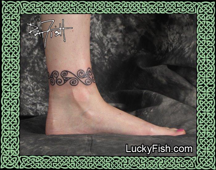 Iron Age La Tene anklet
