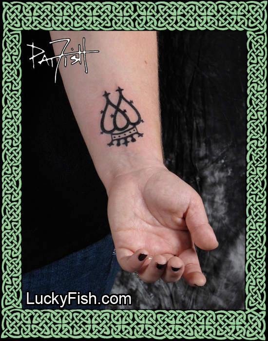Scottish Luckenbooth Tattoo