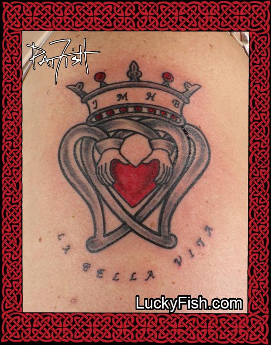 Dedication Luckenbooth Tattoo