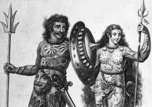A Pictish warrior couple