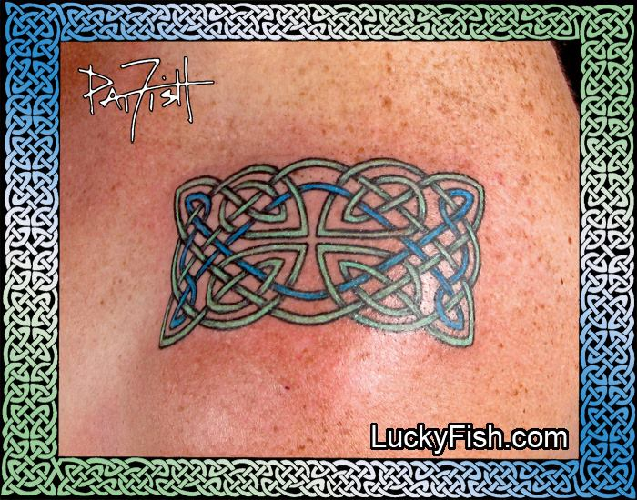 Transition Knot Celtic Tattoo by Pat Fish