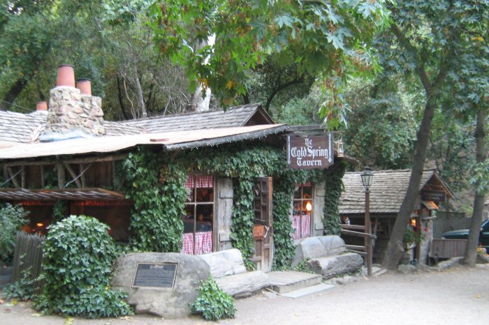Cold Springs Tavern on San Marcos Pass