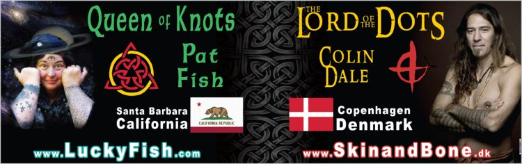 Pat Fish and Colin Dale Booth Banner by Colin Fraser Purcell