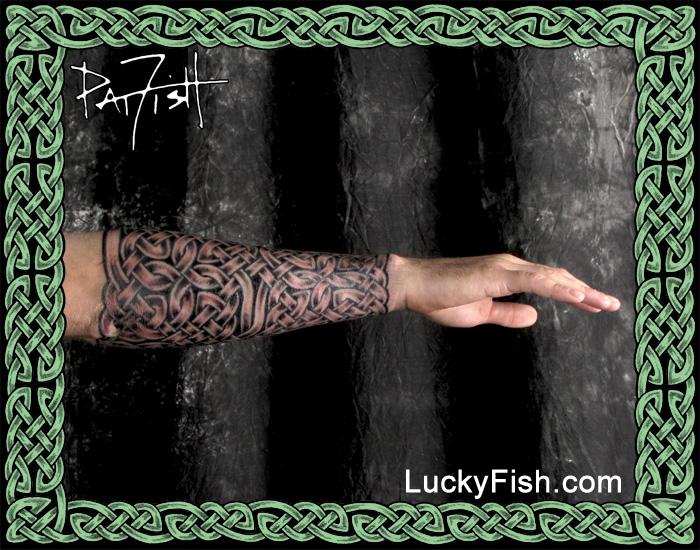 Celtic Gauntlet Tattoo