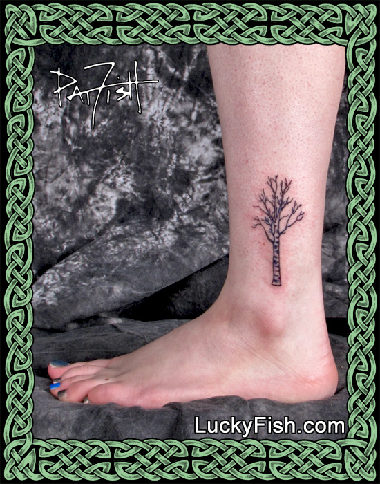 Russian Birch Tree Tattoo by Pat FIsh