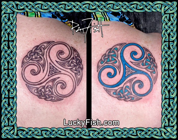 Celtic 'Cycle of Change'Tattoo by Pat Fish