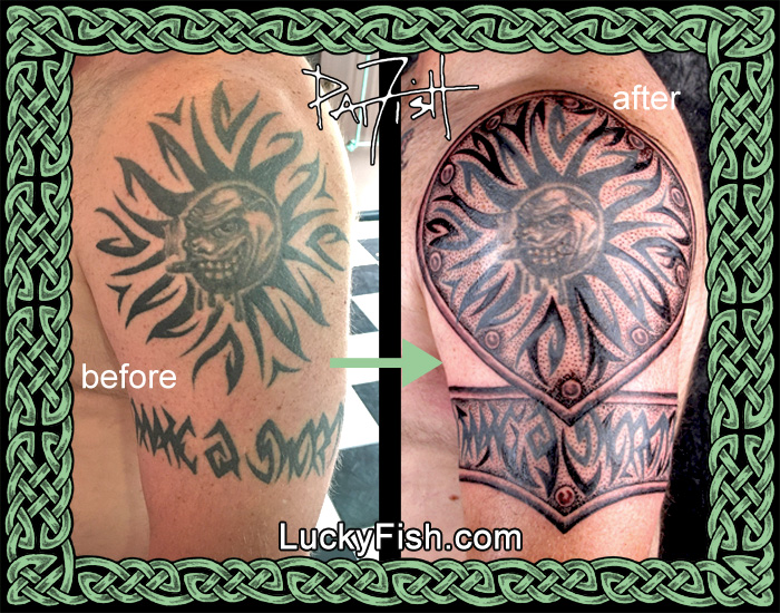 Tribal Tattoo Upgraded by Pat Fish