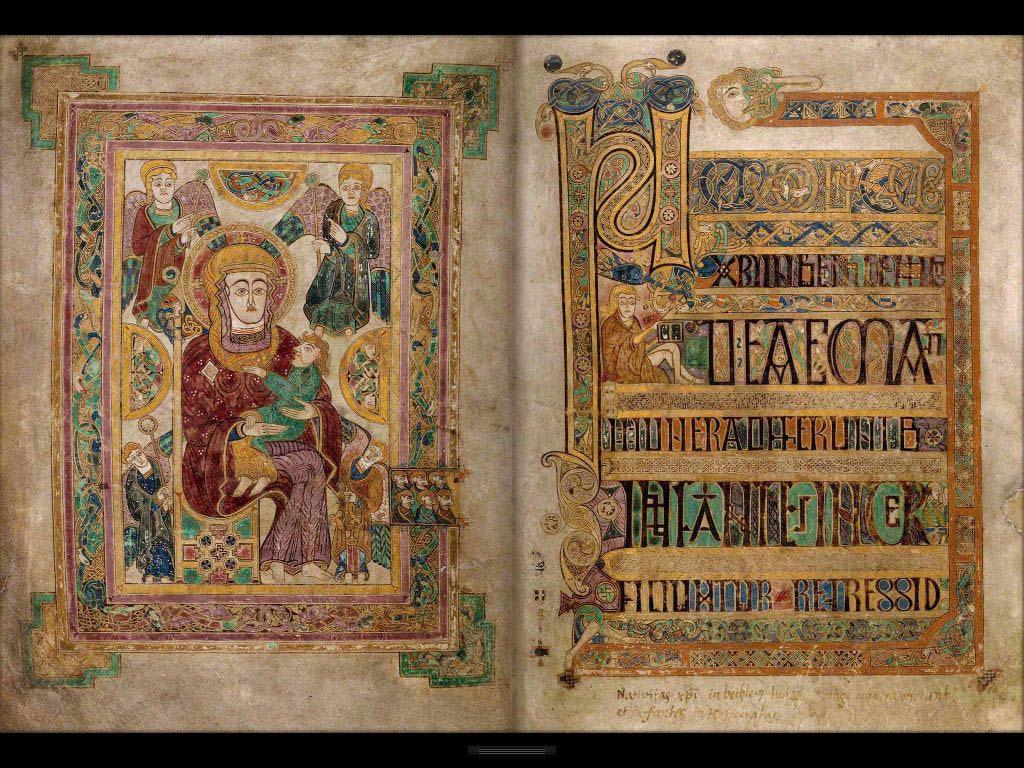 The Book of Kells, Trinity College Dublin