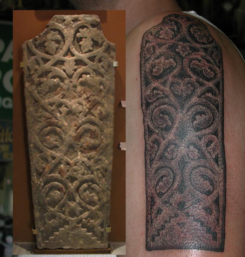 Viking Tree of Life Swedish Tattoo by Pat Fish