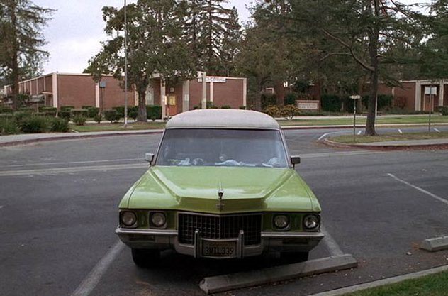 Claire Fisher's 1971 Cadillac Funeral Coach S&S Victoria in Six Feet Under