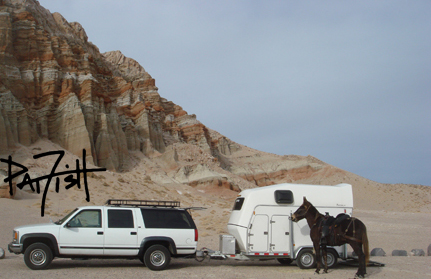 And now Mr Mule and I travel in this rig.