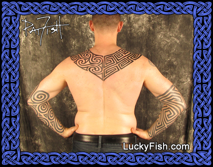 Pictish Tattoos by at Fish