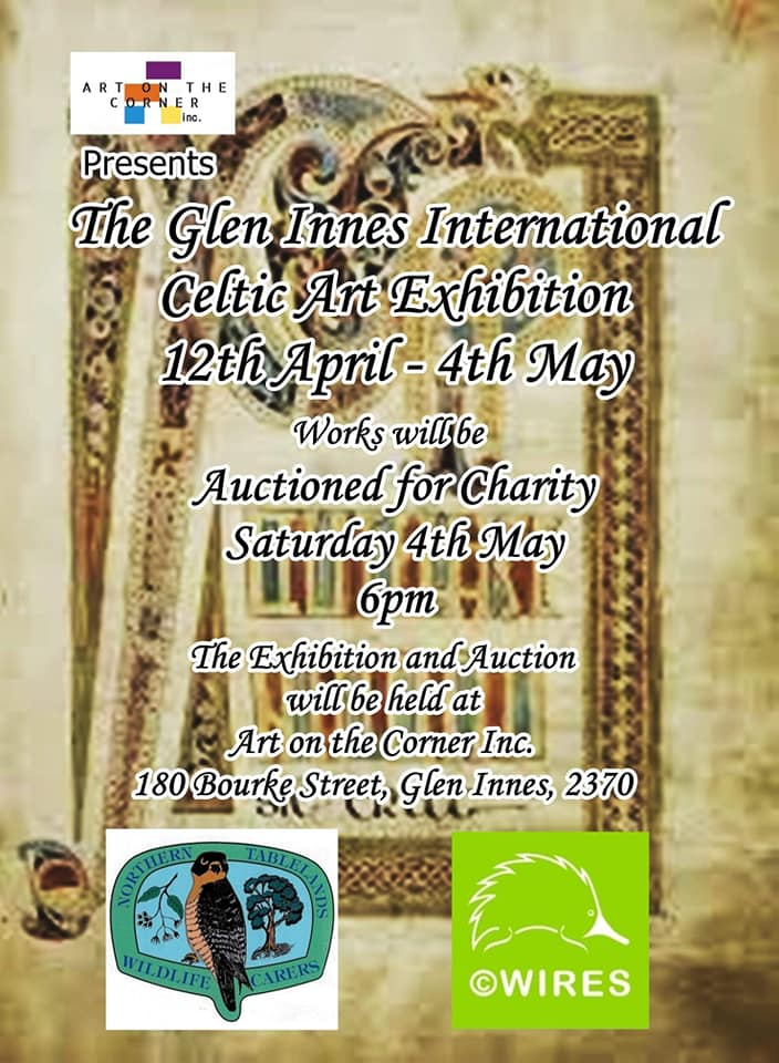 poster for  The Glen Innes International Celtic Art Festival
