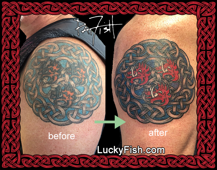 Tattoo Repair by Pat Fish