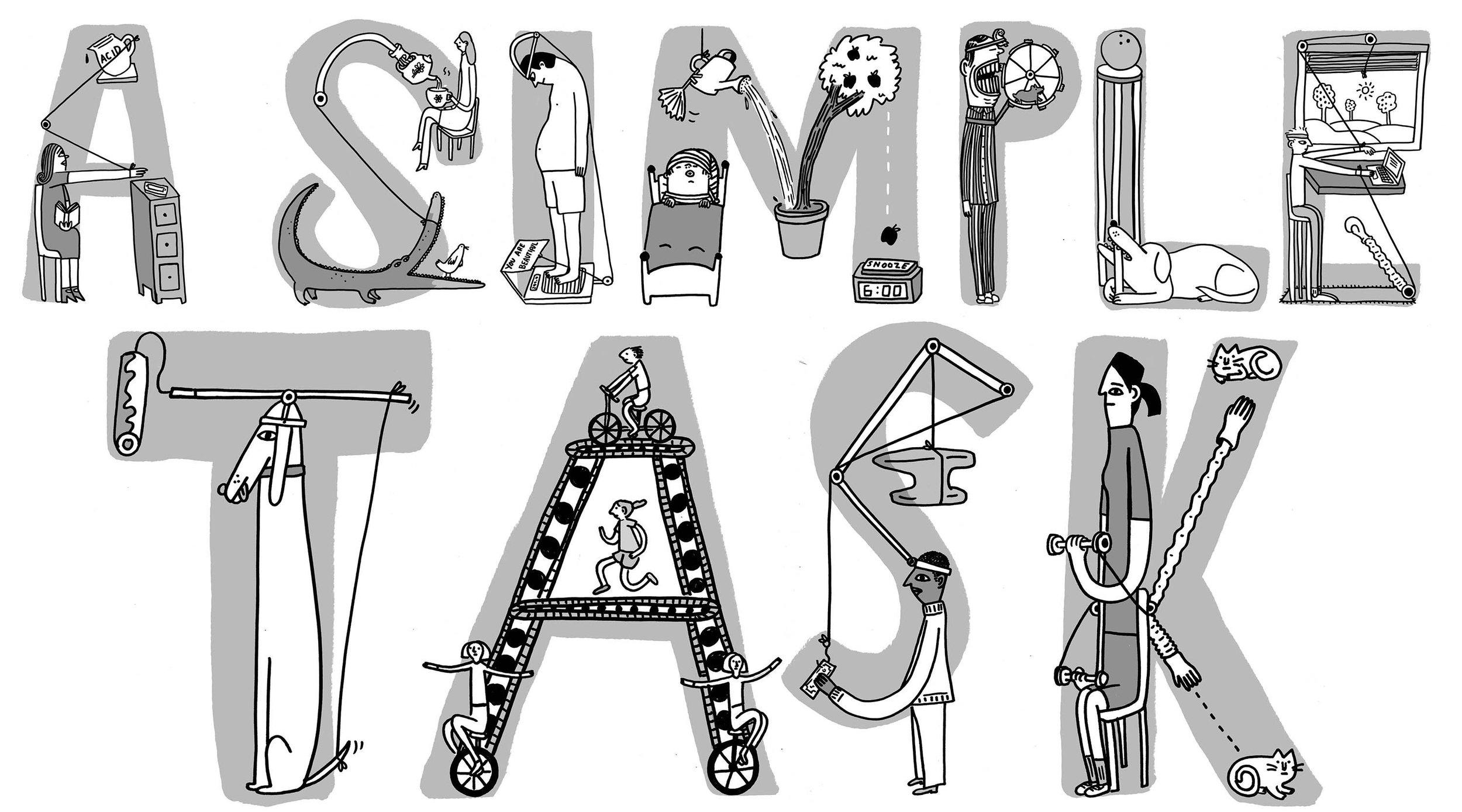 Illustrations by    Hallie Bateman